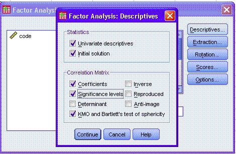 Ảnh 3 - Các bước phân tích nhân tố khám phá EFA