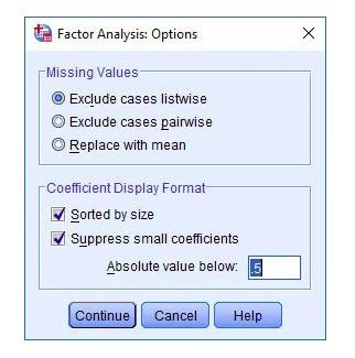 Ảnh 6 - Các bước phân tích nhân tố khám phá EFA