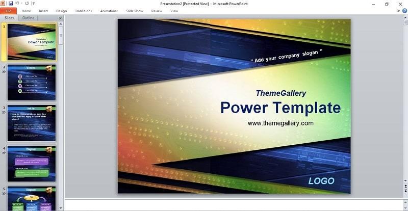 Ảnh slide 2: Mẫu slide luận án thạc sĩ