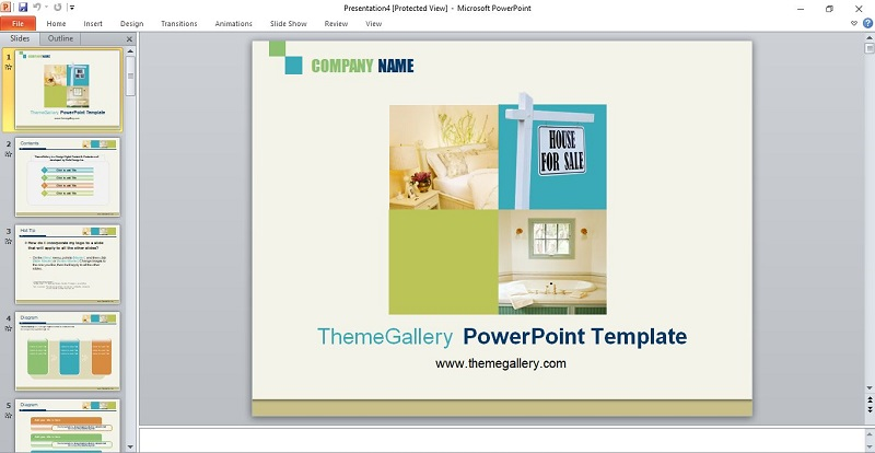 Ảnh 3: Mẫu slide powerpoint báo cáo khoa học