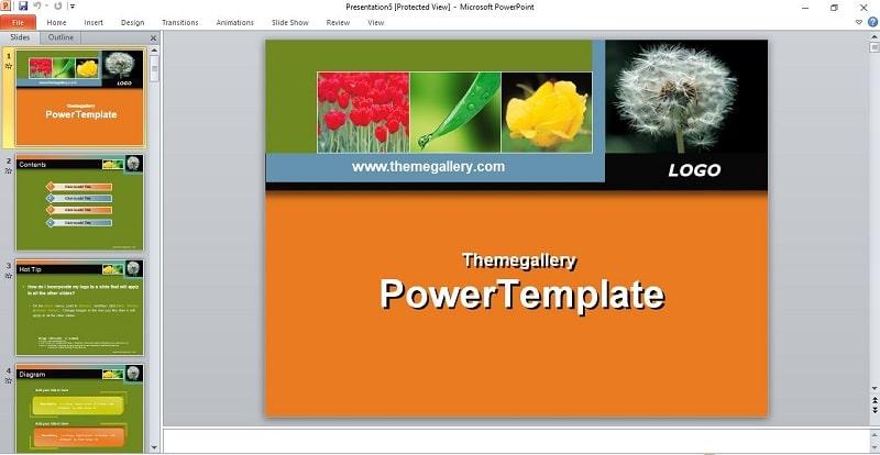 Ảnh 4: Mẫu slide powerpoint báo cáo khoa học