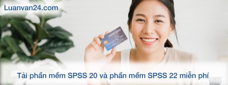 Phần mềm SPSS 20 và phần mềm SPSS 22 miễn phí