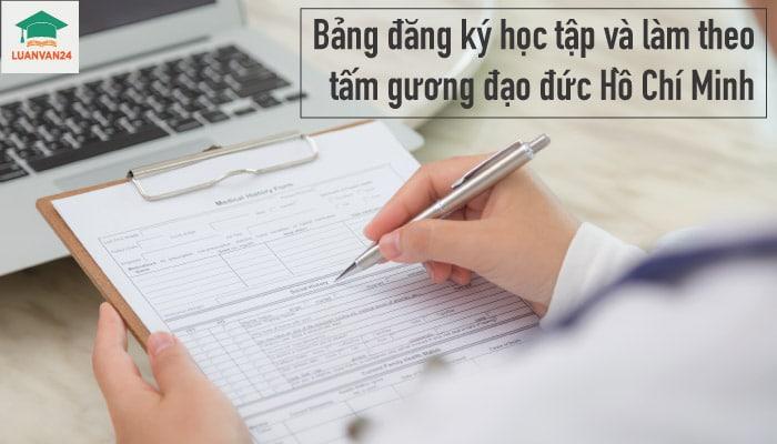 Hình ảnh bảng đăng ký học tập 1