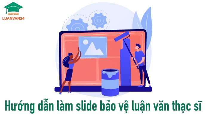 Hình ảnh mẫu slide bảo vệ luận văn thạc sĩ