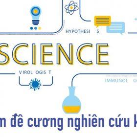 Hình ảnh các làm đề cương nghiên cứu khoa học 1