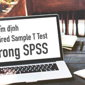 Hướng dẫn chạy kiểm định Paired Sample T Test