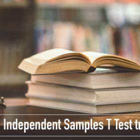 Kiểm định Independent Samples T Test trong SPSS